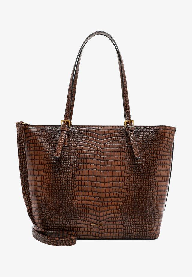 BEATE - Handbag - cognac