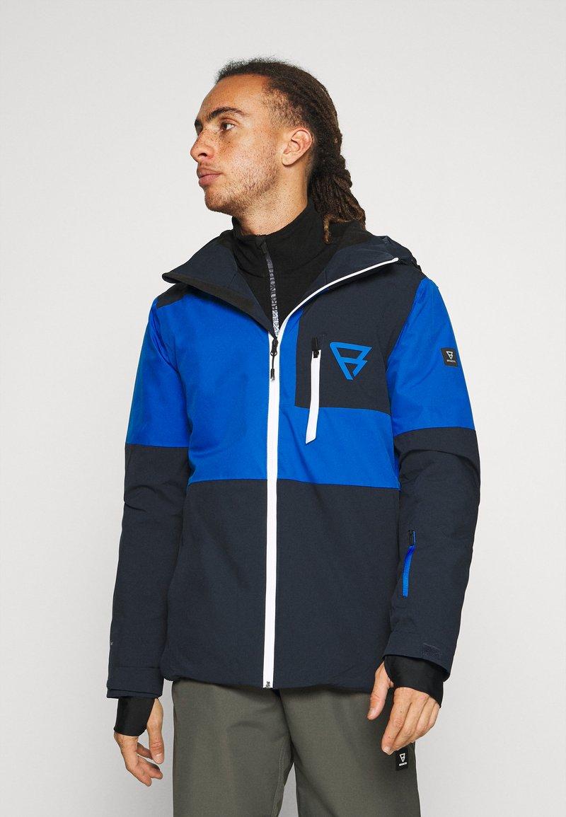 Brunotti - STROKERS MENS SNOWJACKET - Snowboard jacket - space blue