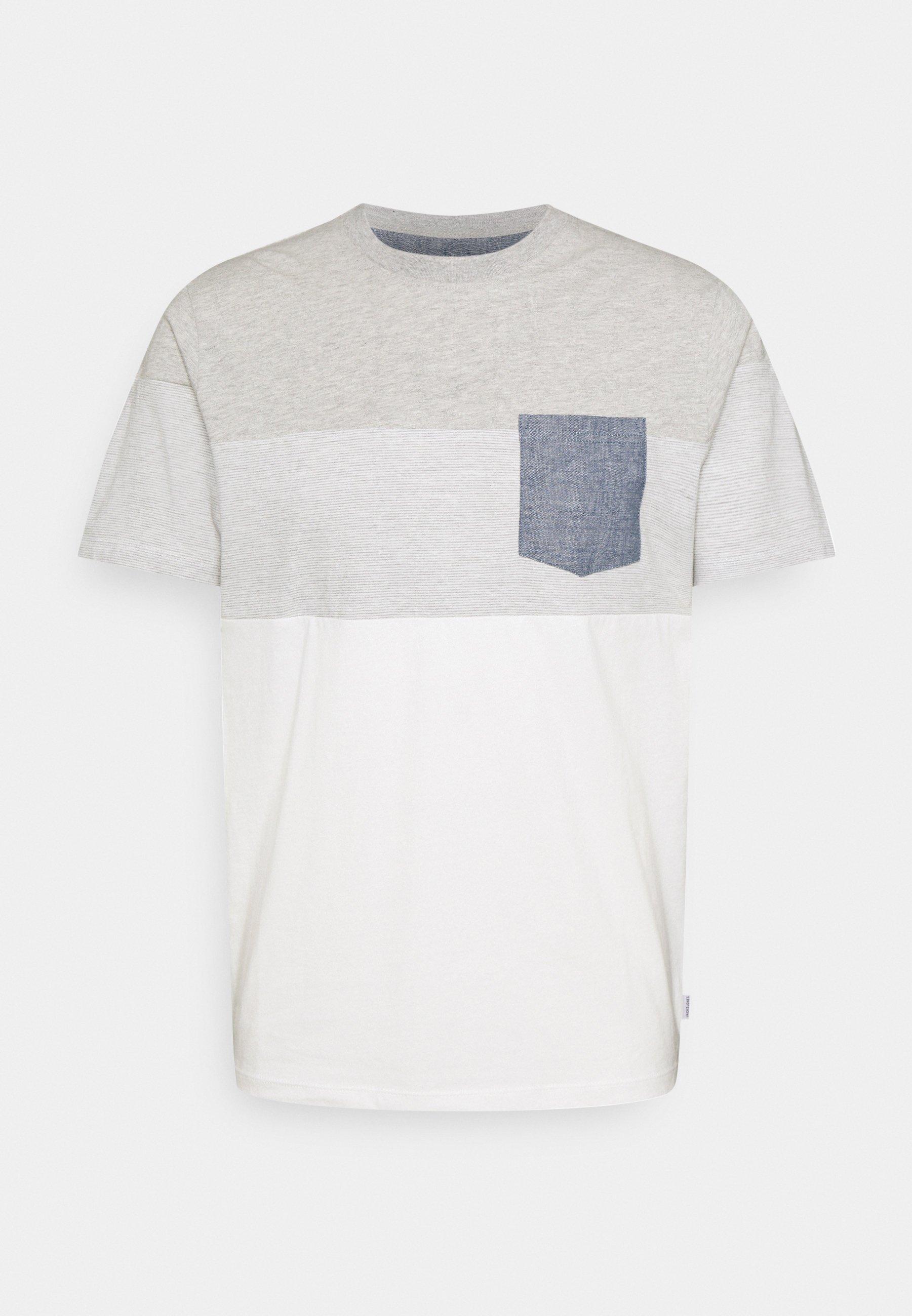 Men JJCONTRAST POCKET TEE CREW NECK - Print T-shirt