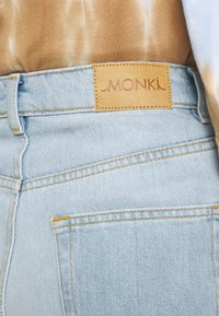 Monki - Straight leg jeans - blue dusty light - 4