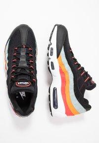 Nike Sportswear - AIR MAX - Trainers - black/white/ocean cube/kumquat/red orbit - 1