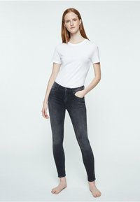 ARMEDANGELS - TILLY - Slim fit jeans - grey wash - 1