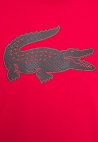Lacoste Sport - TH2042 - Print T-shirt - ruby/navy blue - 2