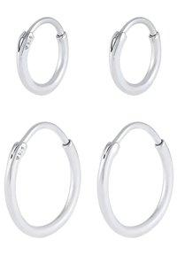 KUZZOI - 2ER SET - Earrings - silber - 4