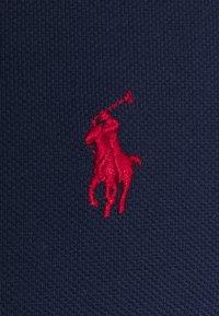 Polo Ralph Lauren - CUSTOM SLIM FIT POLO PONY MESH T-SHIRT - Print T-shirt - newport navy - 2