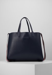 Tommy Hilfiger - ICONIC TOTE MONOGRAM - Tote bag - blue - 4