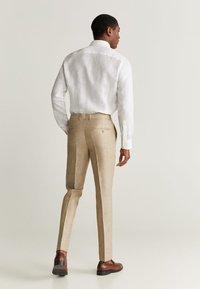 Mango - FLORIDA - Pantalon de costume - open beige - 2