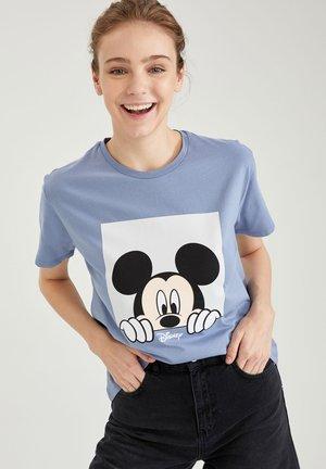 DISNEY - T-shirt con stampa - blue