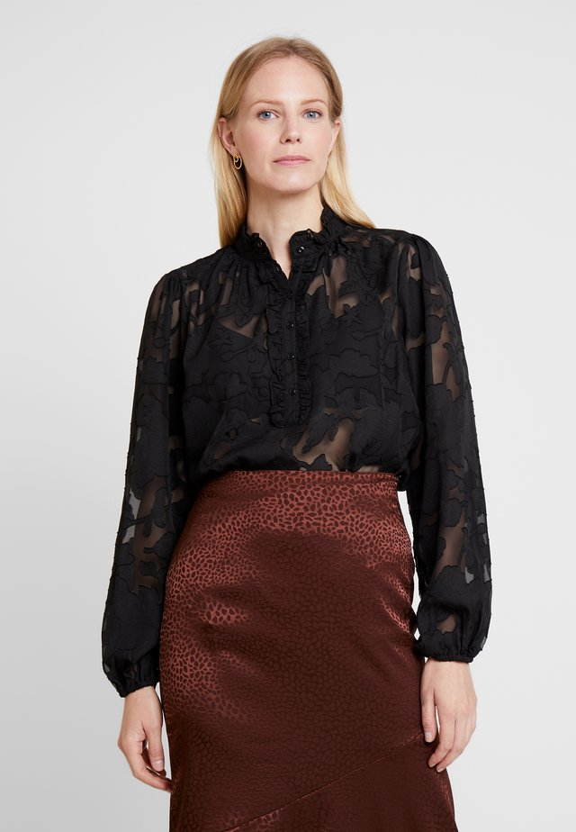 JELENA BLOUSE - Pusero - pitch black