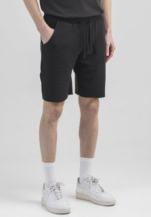 CLASSIC TERRY - Shorts - off black