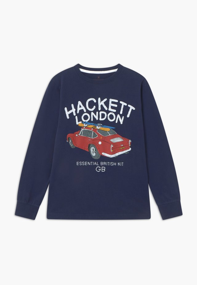SURF CAR - Langarmshirt - navy