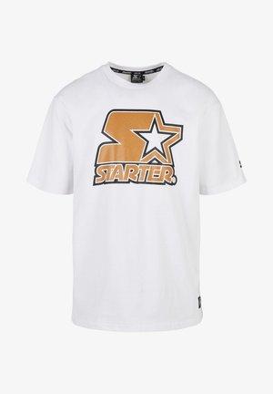 BASKETBALL SKIN - Print T-shirt - white