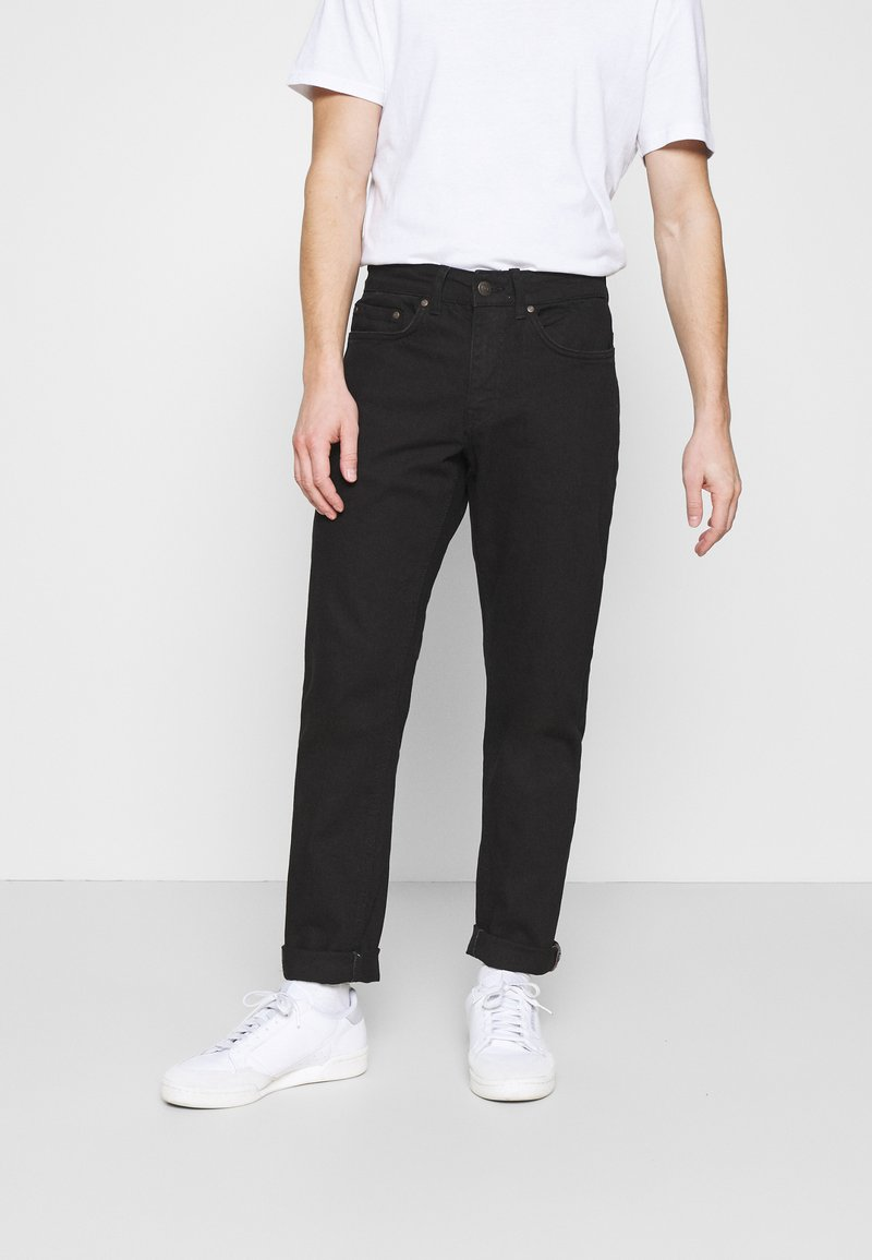 Redefined Rebel - CHICAGO - Jeans Tapered Fit - deep black