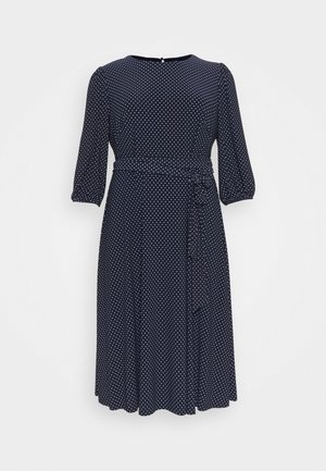 FELIA LONG SLEEVE DAY DRESS - Jersey dress - lighthouse navy/colonial