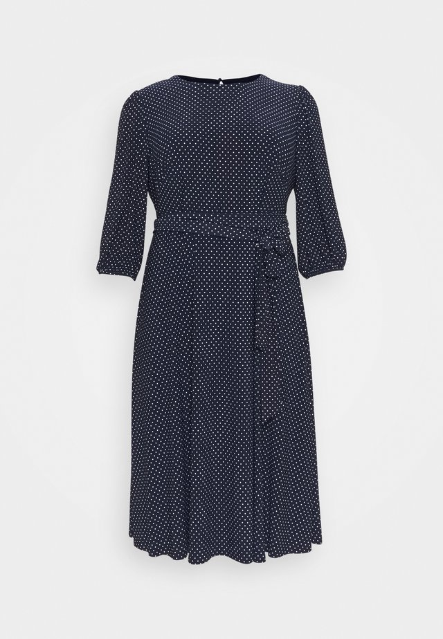FELIA LONG SLEEVE DAY DRESS - Jerseyklänning - lighthouse navy/colonial