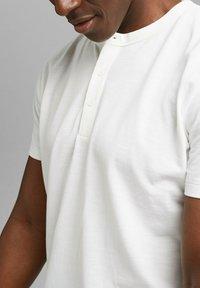 Esprit - PIQUE - Basic T-shirt - off white - 3
