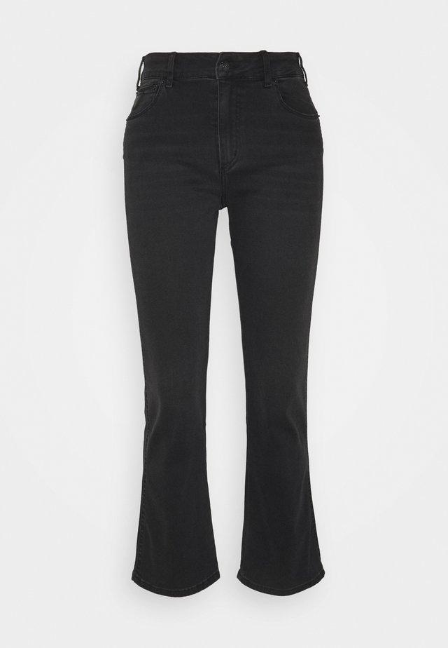 MALENA - Široké džíny - black