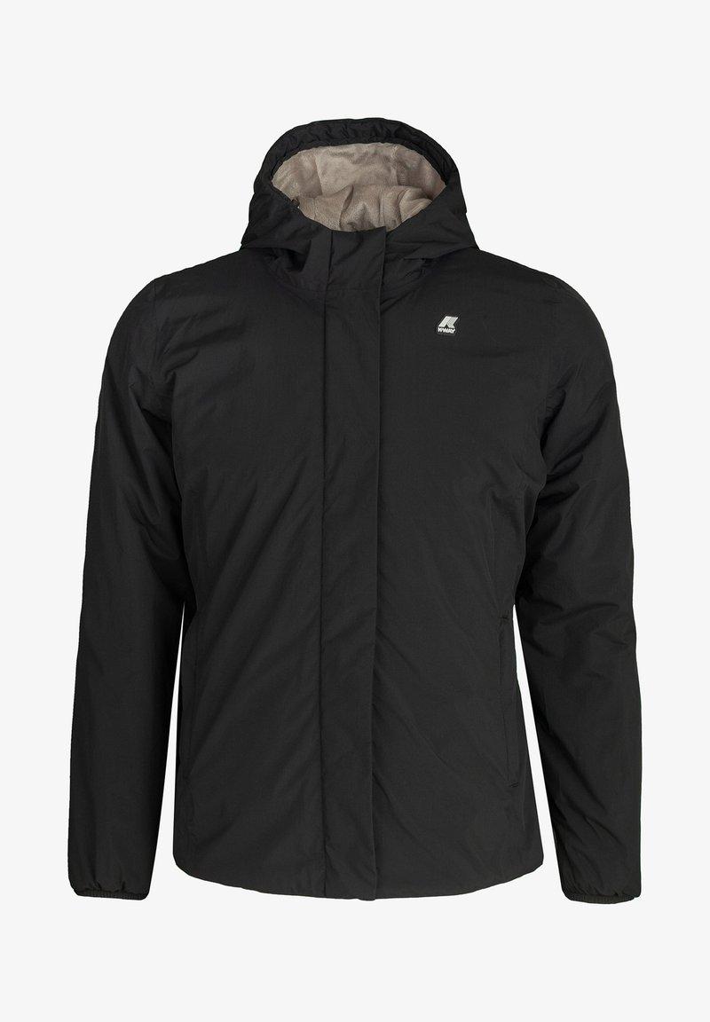 K-Way - MARMOTTA - Winter jacket - black  pure