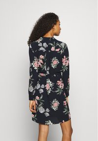 Vero Moda - VMSAGA COLLAR DRESS  - Shirt dress - navy blazer - 2