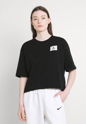 ESSEN BOXY TEE - T-shirt basic - black