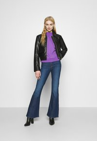 Lee - BREESE - Flared jeans - dark garner - 1