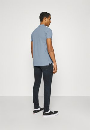 Poloshirt - grey-blue
