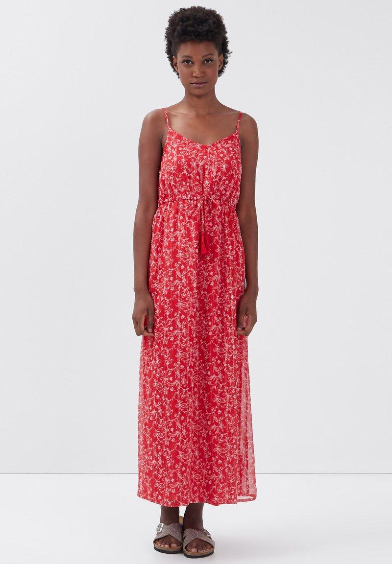 BONOBO Jeans - Maxi dress - rouge clair
