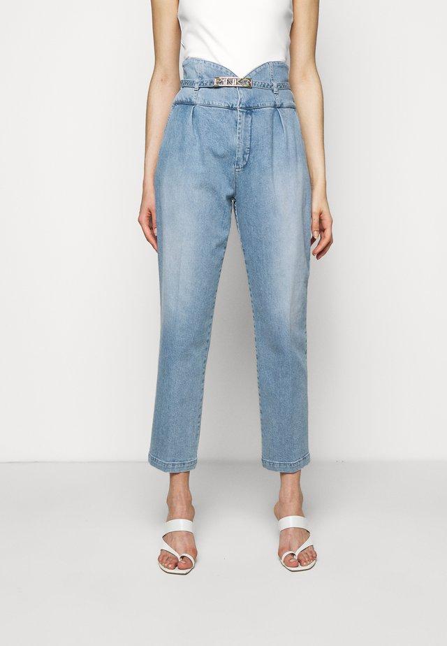 ARIEL - Jeans baggy - blue