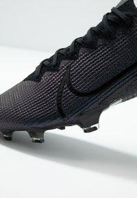 Nike Performance - MERCURIAL VAPOR 13 ELITE FG - Fotbollsskor fasta dobbar - black - 6