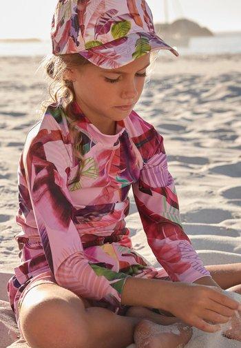 COBALT PALM - Rash vest - pink