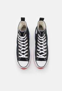 Converse - RUN STAR HIKE - High-top trainers - black/white/university red - 6