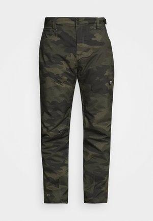 KITEBAR CAMO MENS SNOWPANTS - Snow pants - pine grey
