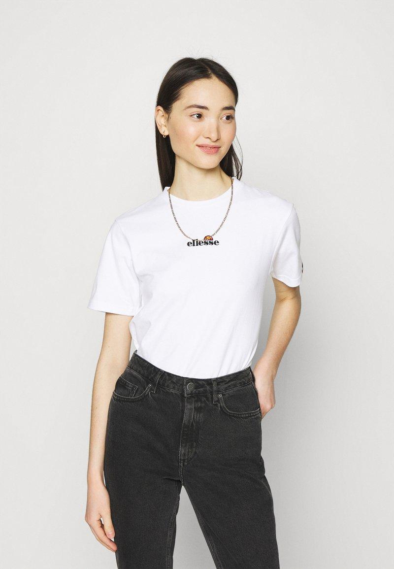 Ellesse - MIYANA - Camiseta estampada - white-smu