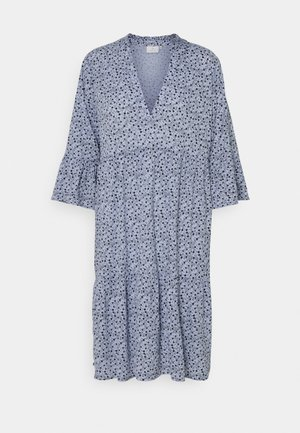 BERNA AMBER DRESS - Day dress - chambray blue