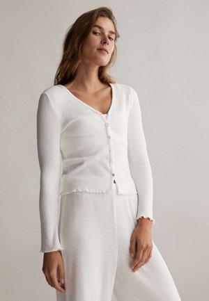 Pyžamový top - white