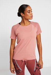 ONLY Play - ONPJAVA TEE - Print T-shirt - dusty rose - 0