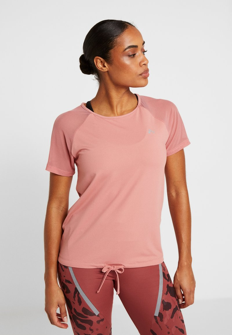 ONLY Play - ONPJAVA TEE - Print T-shirt - dusty rose