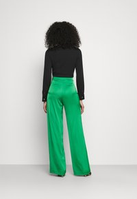 HUGO - HAREMAS - Kalhoty - medium green - 2