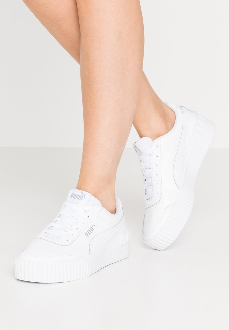 Puma - CARINA LIFT  - Joggesko - white
