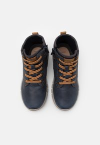 Geox - FLEXYPER BOY - Lace-up ankle boots - navy - 3