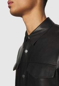 STUDIO ID - LEONARDOS - Leather jacket - black - 5