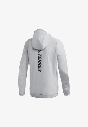 TERREX AGRAVIC RAIN JACKET - Sports jacket - white