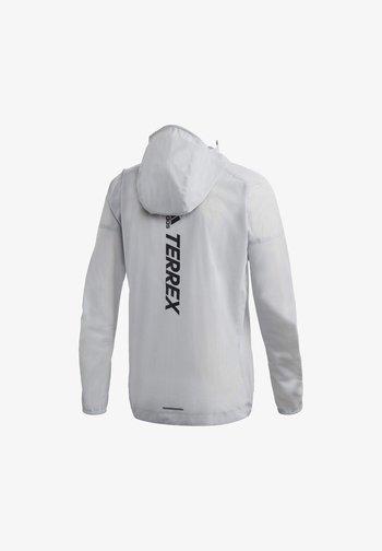 TERREX AGRAVIC RAIN JACKET - Løbejakker - white