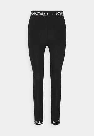 LOGO WAIST - Legging - black