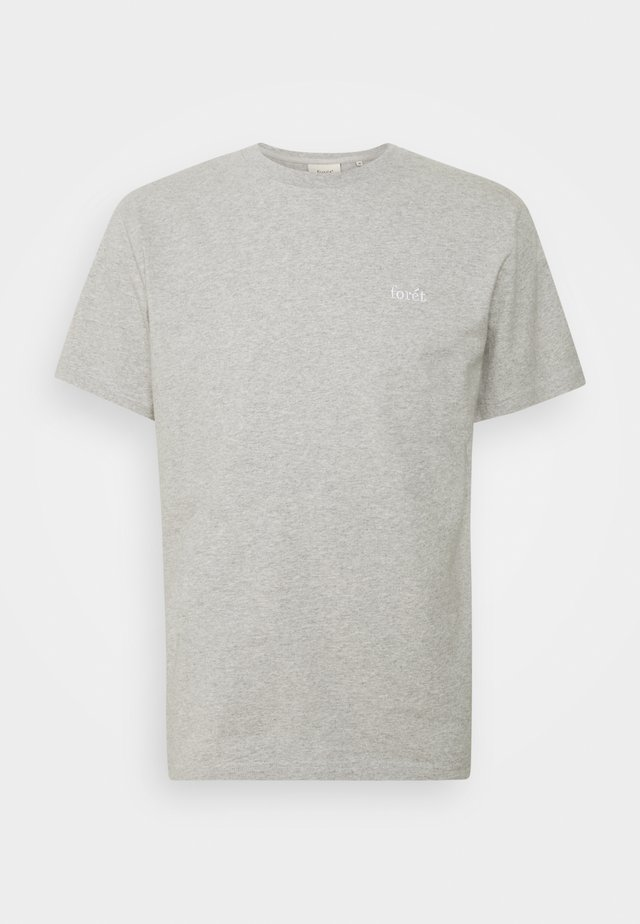 AIR - Basic T-shirt - light grey melange