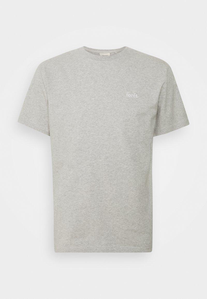 forét - AIR - Basic T-shirt - light grey melange