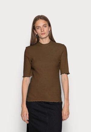 SLFANNA CREW NECK TEE - Basic T-shirt - carafe