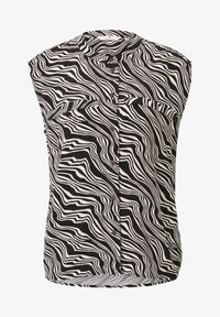 TOM TAILOR - Button-down blouse - black wavy design - 5