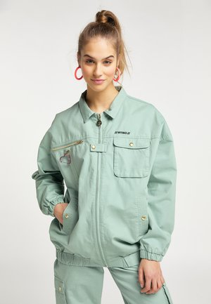 Summer jacket - neo mint