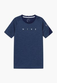 Nike Performance - DRY ACADEMY - Print T-shirt - blue void/white - 0